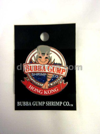 Bubba Gump Shrimp Co. Hong Kong Pin