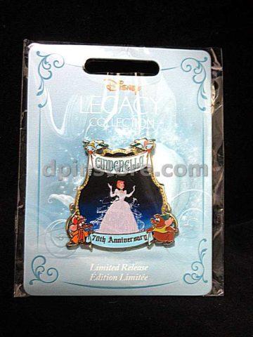 Disney 2020 Cinderella 70th Anniversary Limited Release Pin