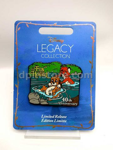Disney Legacy Collection The Fox and the Hound 40th Anniversary Pin Limited Release