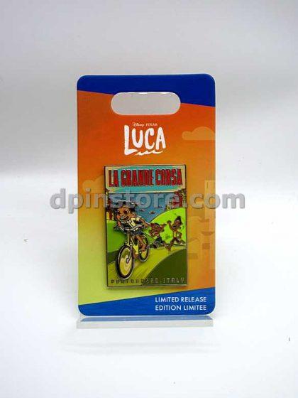 Disney Luca La Grande Corsa Pin Limited Release