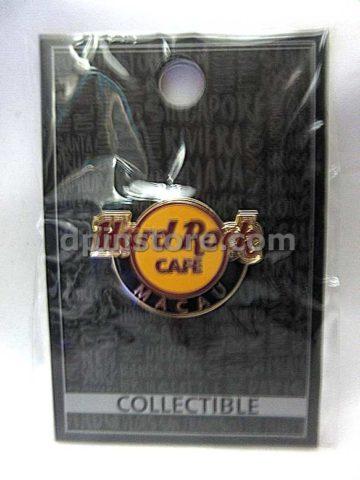 Hard Rock Cafe Macau Hard Rock Logo Button Pin