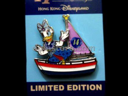 Hong Kong Disneyland 14th Anniversary Limited Edition Pin