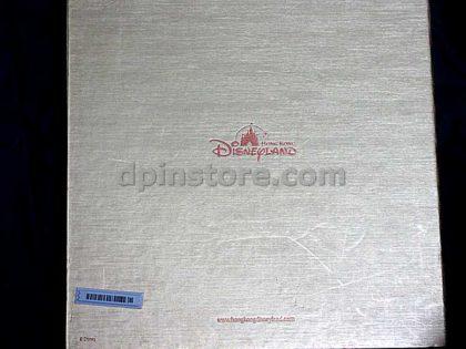 Hong Kong Disneyland 2005 Grand Opening Pin and Booklet Invitation Box Set