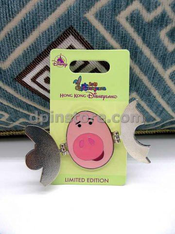 Hong Kong Disneyland 2019 Eggstravaganza (Piglet) Limited Edition Pin