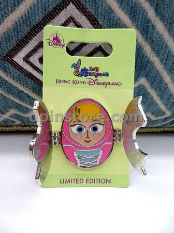 Hong Kong Disneyland 2019 Eggstravaganza (Toy Story Bo Peep) Limited Edition Pin