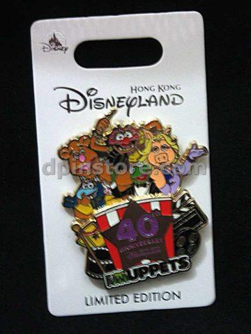 Hong Kong Disneyland 2019 The Muppets 40th anniversary Limited Edition Pin