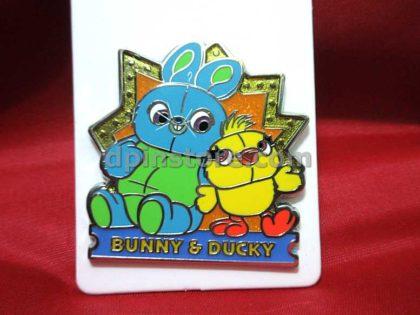 Hong Kong Disneyland Bunny & Ducky Pin