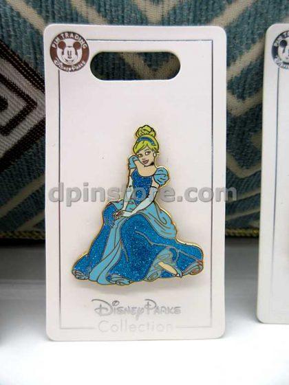 Hong Kong Disneyland Disney Princess Pins Set of 4