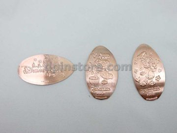 Hong Kong Disneyland Duffy and Friends Elongated Penny Coins Set of 3 (2020 Version)