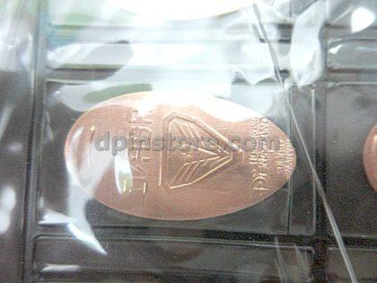 Hong Kong Disneyland Elongated Penny Coins All Set of Year 2019 (Total 17 Sets)