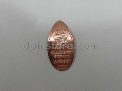 Hong Kong Disneyland Grizzly Gulch Frontierland Elongated Penny Coins Set of 3 (2020 Version)