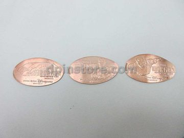 Hong Kong Disneyland Iron Man Elongated Penny Coins Set of 3 (2020 Version)