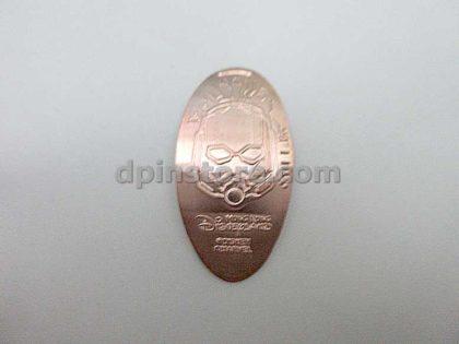 Hong Kong Disneyland Marvel Ant-Man Elongated Penny Coins Set of 3 (2020 Version)