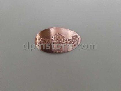 Hong Kong Disneyland Mickey Mouse Elongated Penny Coins Set of 3 (2020 Version)