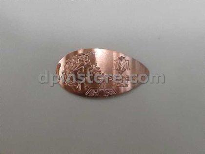 Hong Kong Disneyland Mystic Manor Elongated Penny Coins Set of 3 (2020 Version)