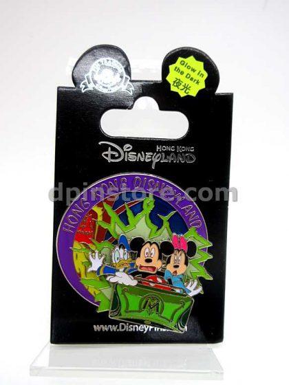 Hong Kong Disneyland Mystic Manor Mickey Mouse Ride Pin