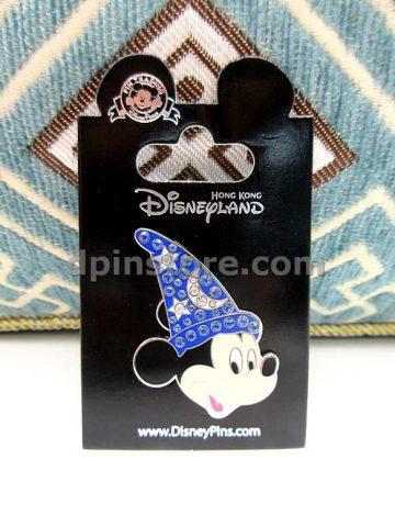 Hong Kong Disneyland Wizard Mickey Mouse Pin