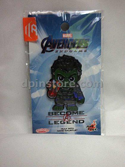 Hot Toys Marvel Avengers Endgame Cosbaby Hulk with Nano Gauntlet Pin