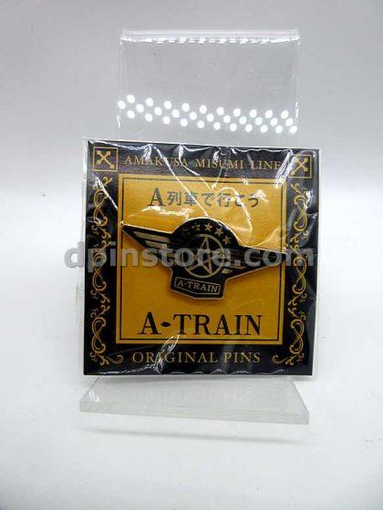 Japan A-Train Amakusa Misumi Line Original Pin