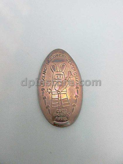 Japan LEGOLAND Discovery Center Osaka Elongated Penny Coins