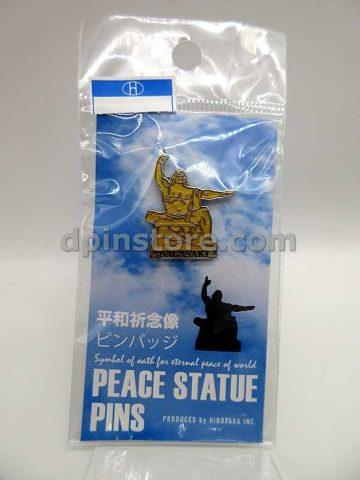 Japan Nagasaki Peace Statue Souvenir Pin