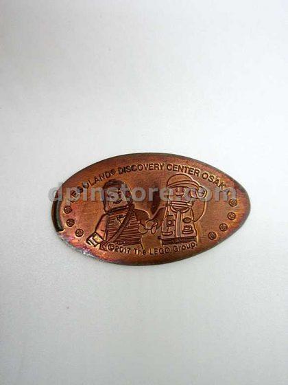 Japan Osaka LEGOLAND Discovery Center Souvenir Elongated Penny Coins Set of 3