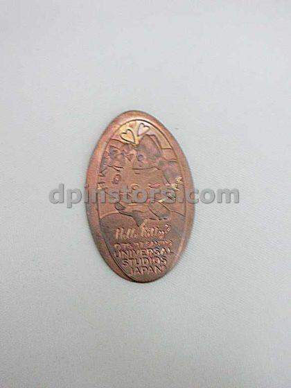 Universal Studios Japan Hello Kitty Elongated Penny Coins