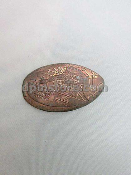 Universal Studios Japan Spider-Man Elongated Penny Coins